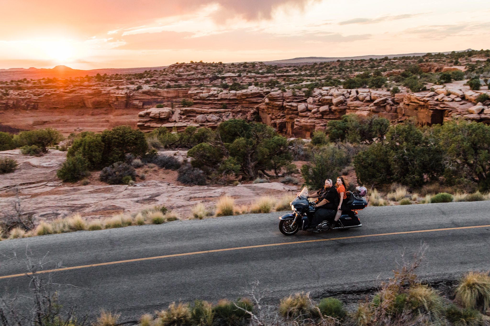 harley davidson dead horse point engagements