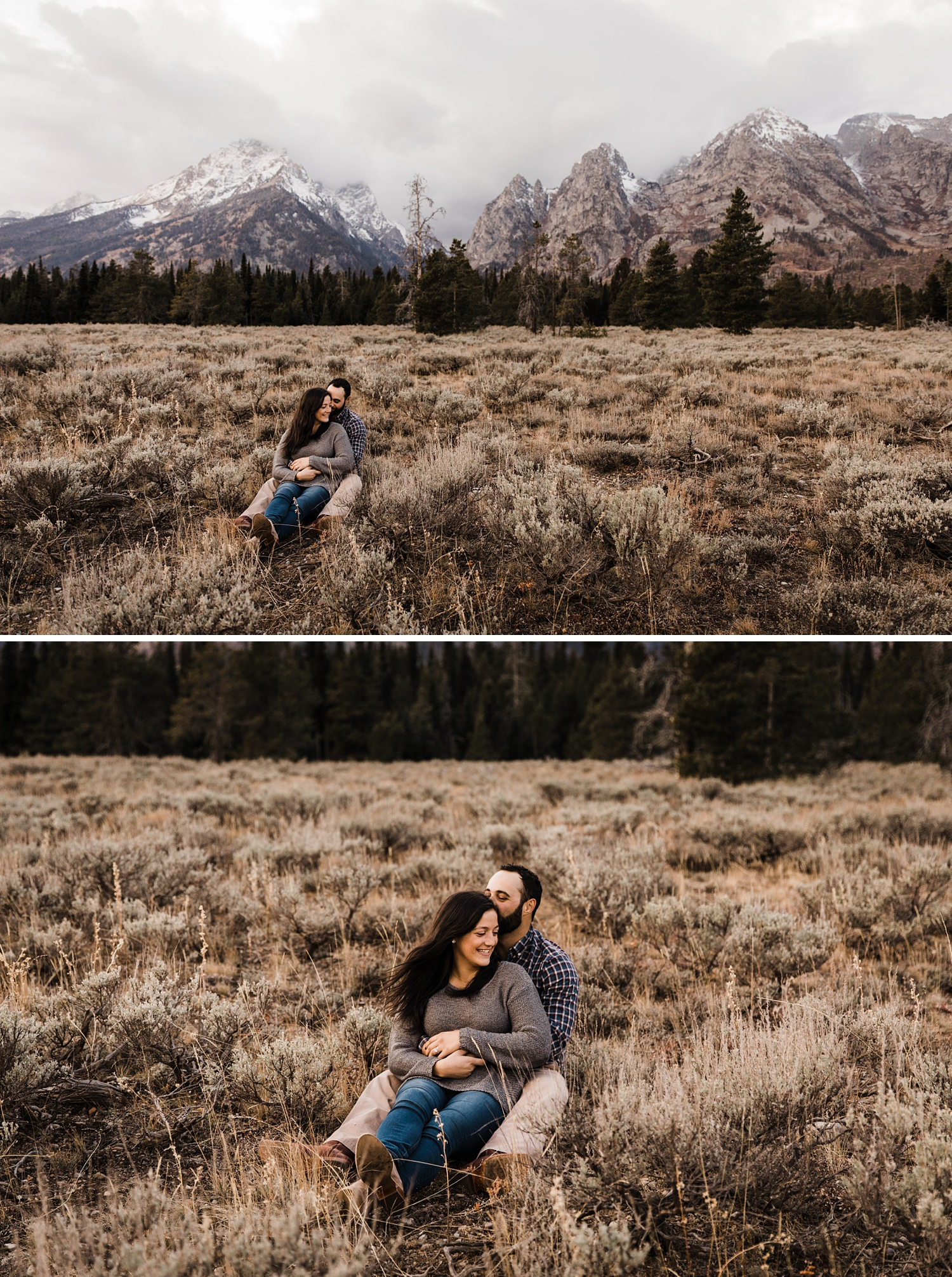 grand teton engagement photographer