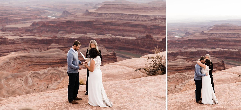 dead horse point elopement photographer