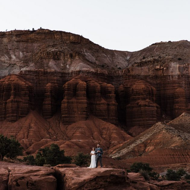 capitol reef wedding