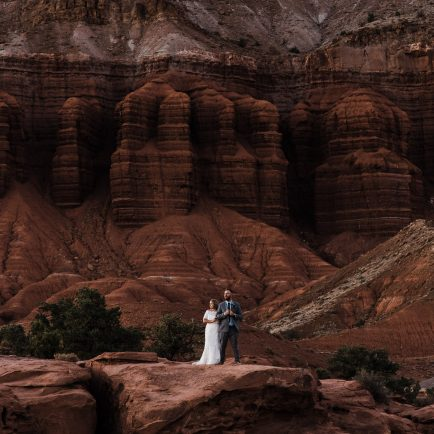 capitol reef wedding photographer