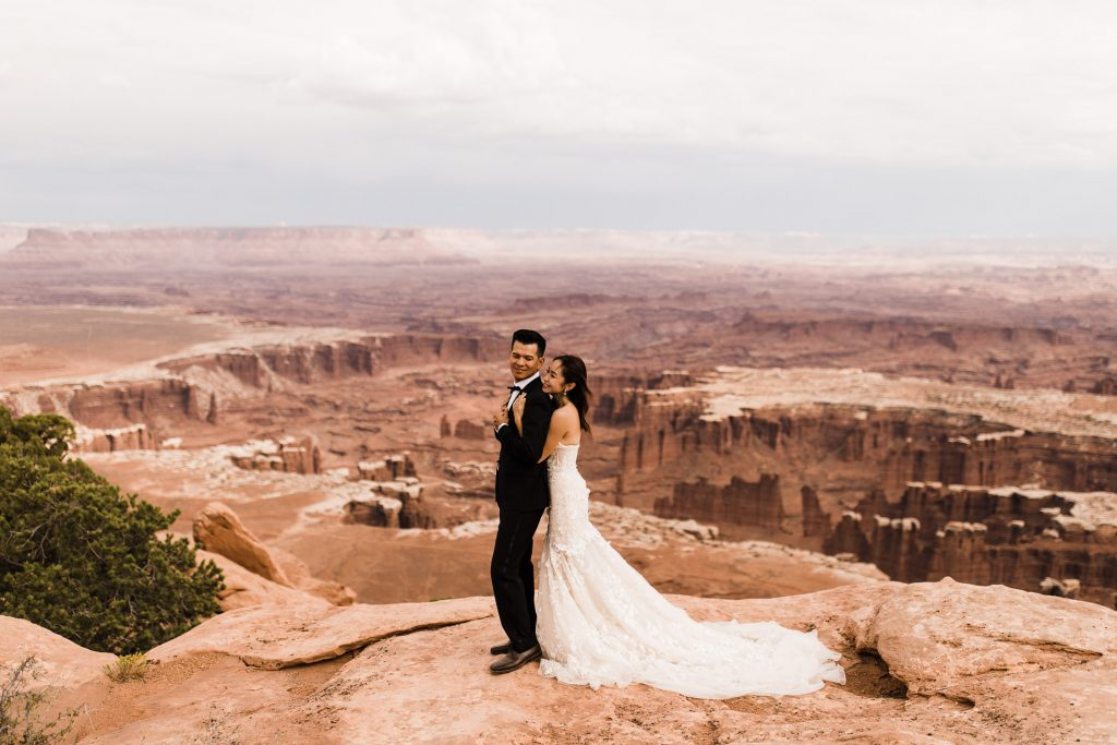 canyonlands national park wedding