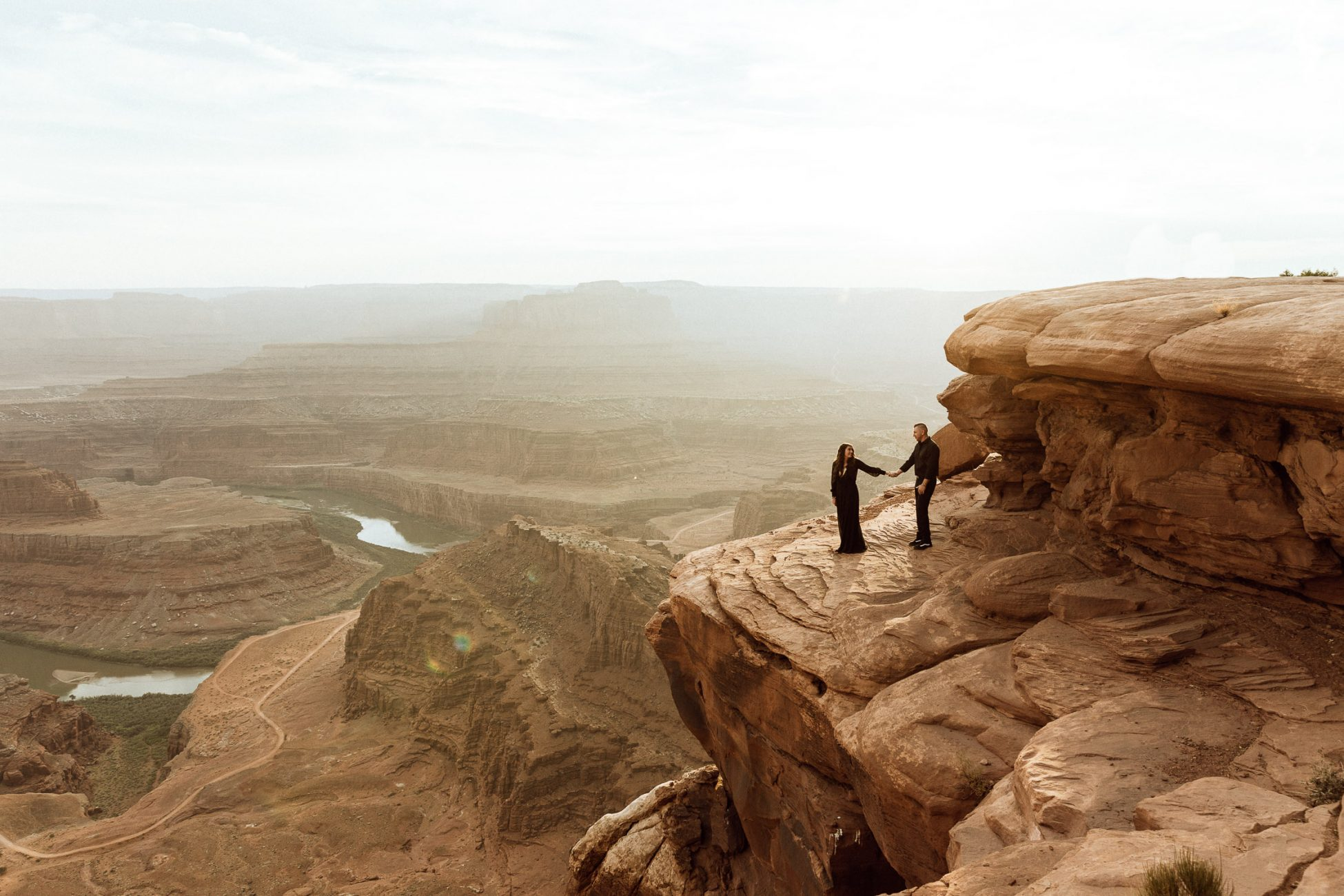 Dead Horse Point Elopement at Sunset