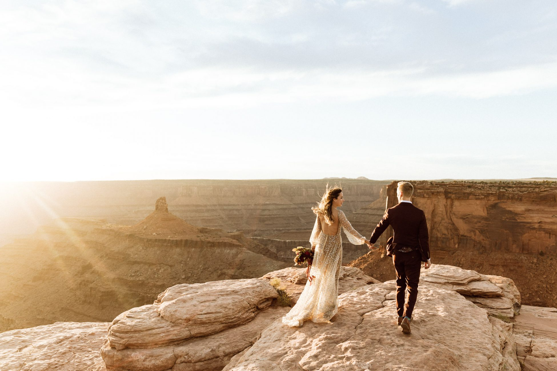 Dead Horse Elopement at Sunset