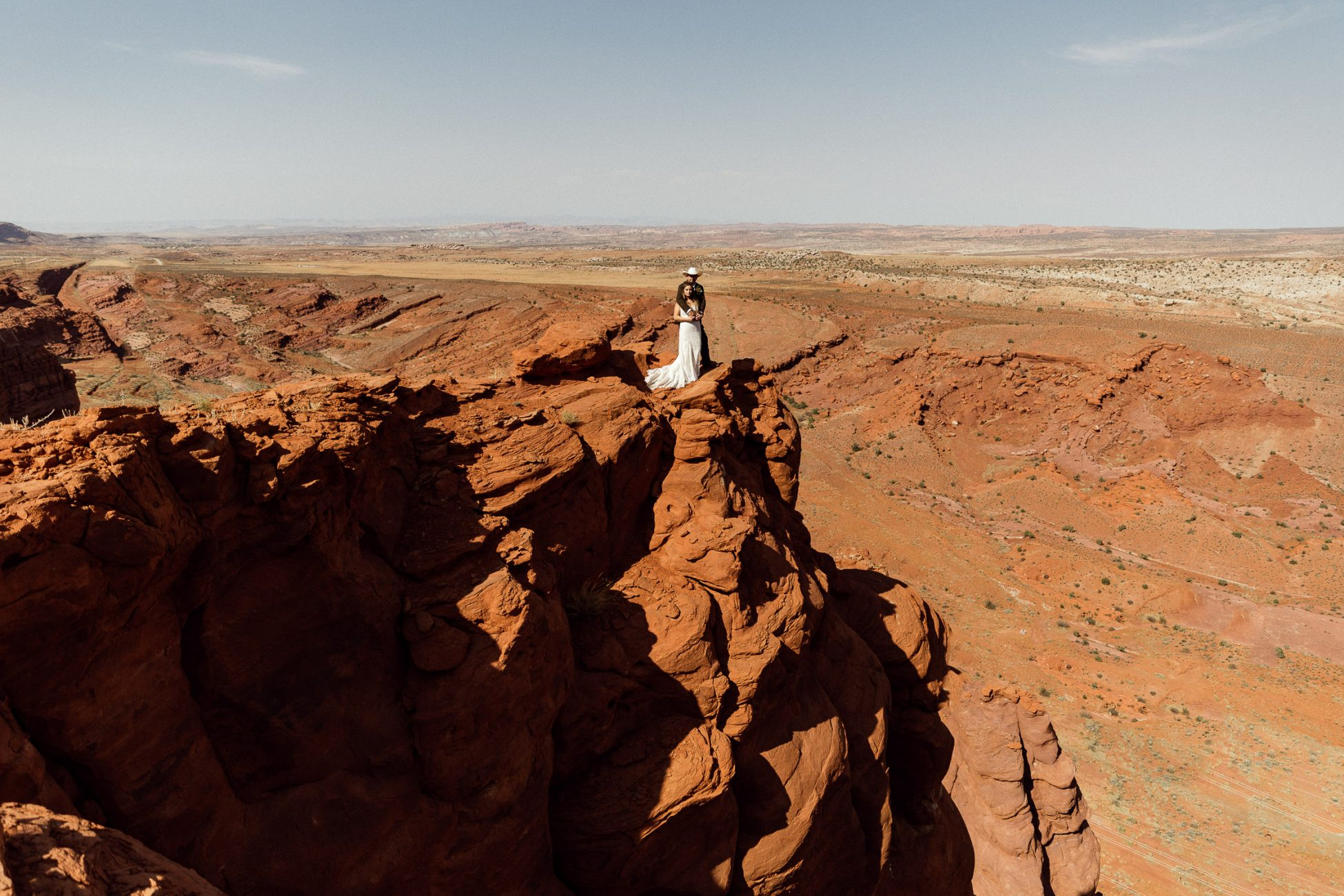 moab wedding at dead horse point