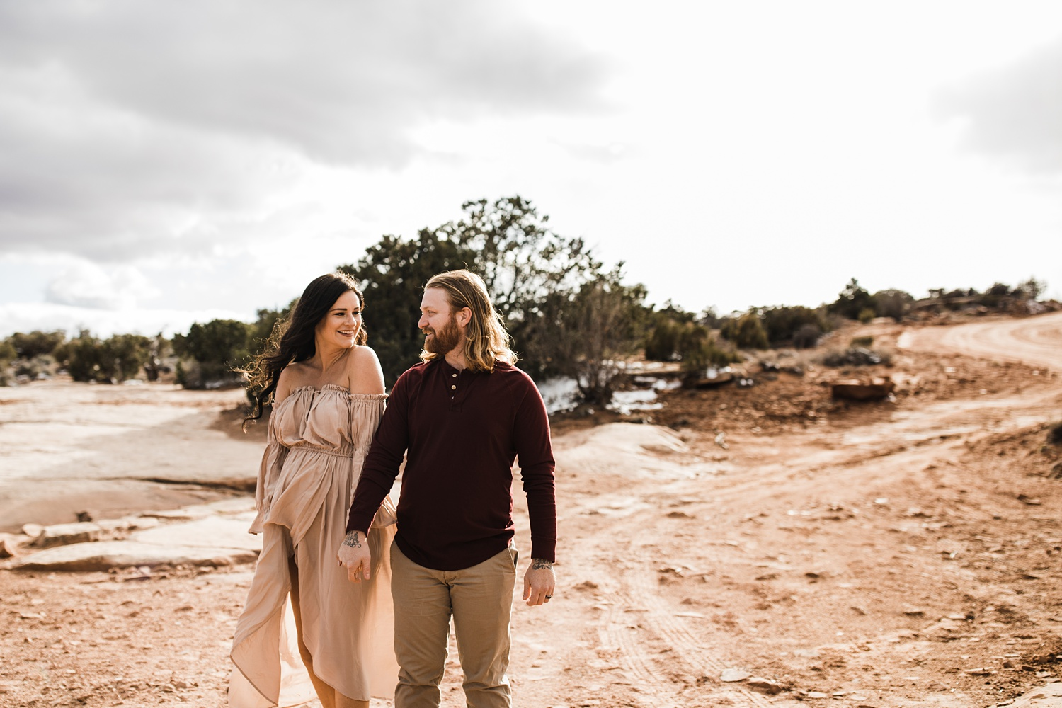 dead horse point maternity session