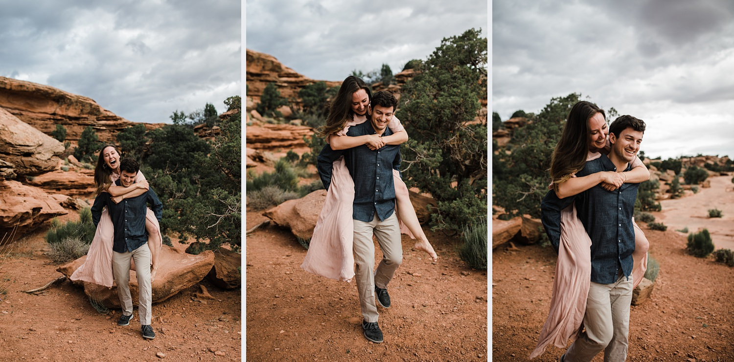 canyonlands engagement photographer