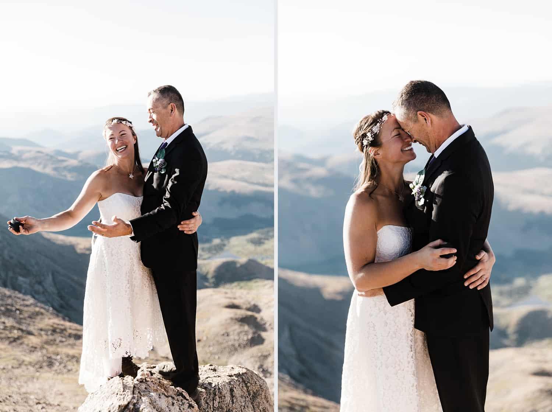 mt. bierstadt wedding