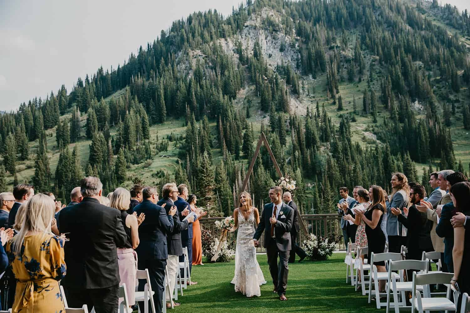 snowpine lodge wedding alta utah
