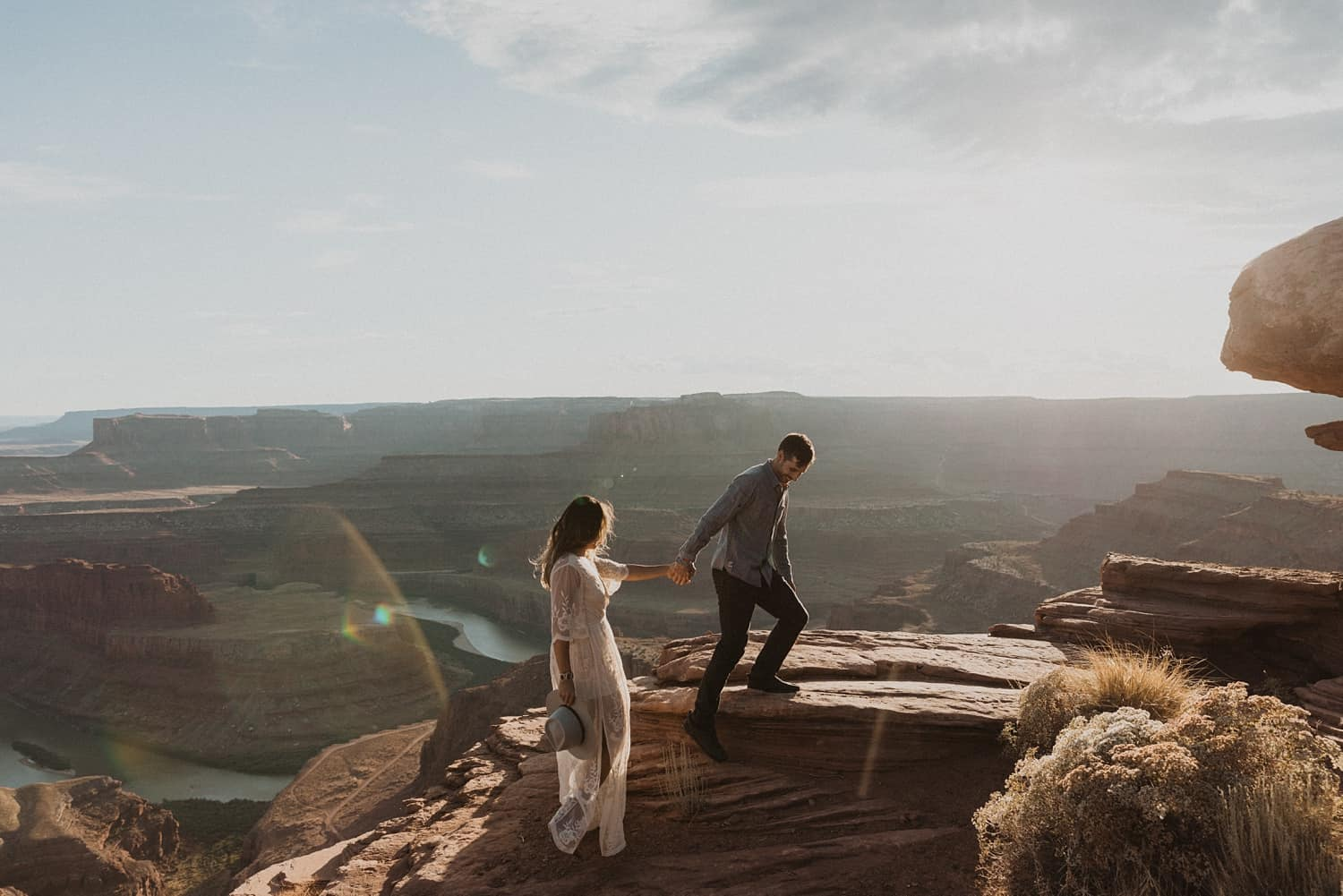 moab engagement photos
