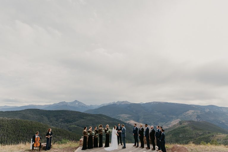 four seasons vail wedding