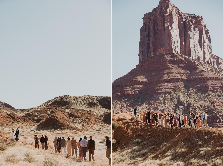 desert elopement in moab