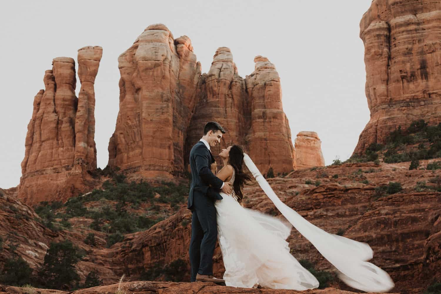 sunrise sedona elopement
