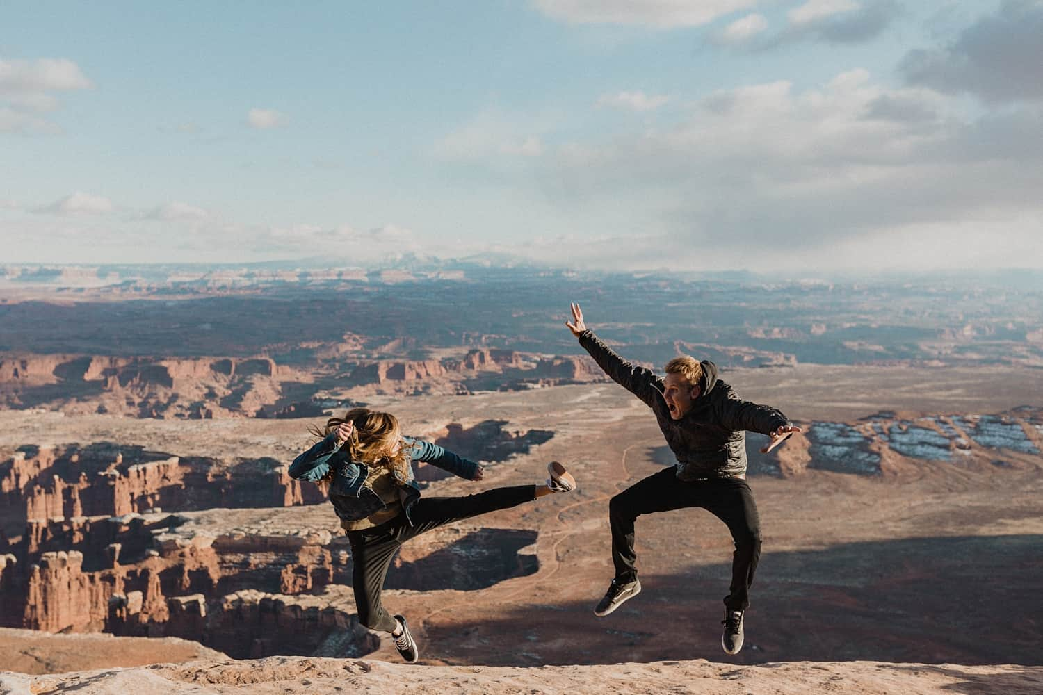 canyonlands engagement photos
