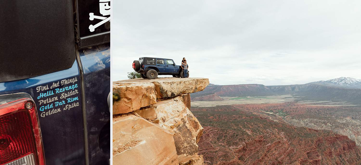 jeeping top of the world moab