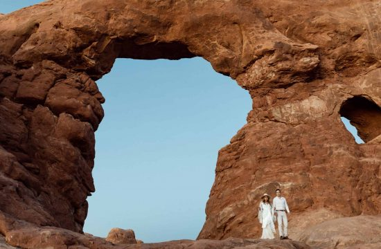 arches national park elopement